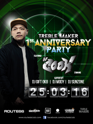 Treble Maker 1st Anniversary Party