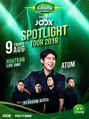 "Chang Music Connection Presents ""JOOX Spotlight Tour 2019"""