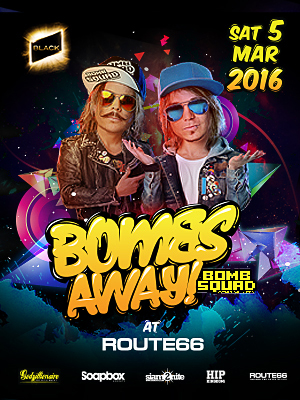 Bombs Away Live At Route66