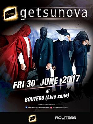 Getsunova Live at Route66