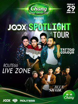 """Chang Music Connection Presents """"JOOX Spotlight Tour 2018"""""""
