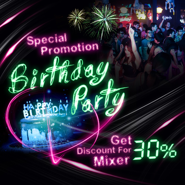 Birthday Promotion